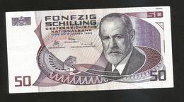 AUSTRIA / OESTERREICHISCHE NATIONALBANK - 50 SHILLING - (Wien 1986) S. Freud - Austria