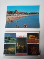1 Set 2 Cartoline GIULIANOVA FG V 1972 Saluti Da - Teramo