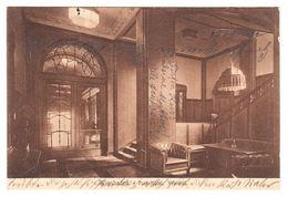 AK Wiesbaden, Park- Hotel, Vestibül, Gel. 1914 - Wiesbaden