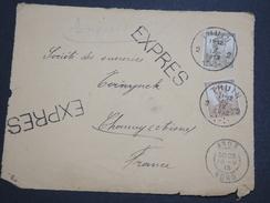 BELGIQUE - Enveloppe ( Devant ) En Express De Thuin En 1913 Pour La France - A Voir - L 6123 - Postmarks - Points