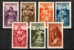 Sarre YT N° 189/195  Neufs ** MNH. TB. A Saisir! - 1920-35 League Of Nations