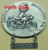 Ca7.v- Broche Pendentif Schtroumpf Pierrelate Drome Pierrelatte Moto Motard - Other