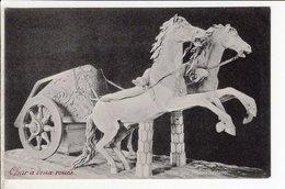 Cpa Carte Postale Ancienne  - Roma Biga Museo Vaticano - Sculture