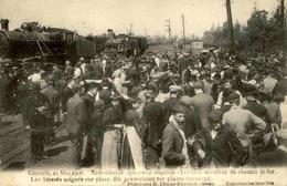 BELGIQUE - Carte Postale  - Kontich - Accident Ferroviaire En 1908 - Les Blessés Soignés Sur Place - L 30345 - Kontich