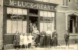 FRANCE - Carte Postale  - Amiens - Restaurant Luce / Reant - Rue Legrand - Daussy - L 30346 - Amiens