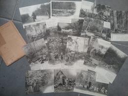 Rare Série N°4 Automne 15 CPA La Forêt En Nivernais Achille Millien - France