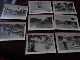 B727   8 Foto Brazzaville Congo Cm10x7 - Non Classificati