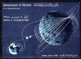 SHARJAH - BLOC ** (1969) ESPACE / APOLLO 8 - Space