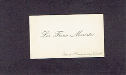 CHENEE 1900-1910 ANCIENNE CARTE DE VISITE - LES FRERES MARISTES - Cartes De Visite