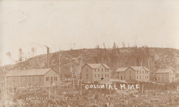 RPPC REAL PHOTO POSTCARD COLONIAL MINE - Andere
