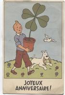 PR6545/ TP 851 S/CP Tintin Milou (Joyeux Anniversaire ) C.BXL V.Schaerbeek Signé Tintin - Belgique