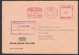 DDR ZKD AFS JENA =ZKD 030= CARL ZEISS 125 Jahre 11.6.71 Nach Teilbetrieb In Dresden - [6] République Démocratique