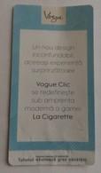 ROMANIA-CIGARETTES  CARD,NOT GOOD SHAPE,0.91 X 0.48 CM - Ohne Zuordnung