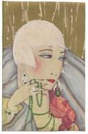 Tête De Femme Style Art Déco... - Women
