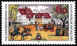Timbre-poste Gommé Neuf** - Journée Du Timbre - N° 1057 (Yvert) - République Fédérale D'Allemagne 1984 - [7] Repubblica Federale