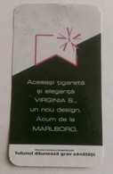 ROMANIA-CIGARETTES  CARD,NOT GOOD SHAPE,0.90 X 0.50 CM - Ohne Zuordnung