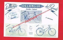 1 Buvard ... Sport Cyclisme ... Vélo Bicyclette DELANGLE ... - Sport