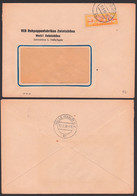 DDR ZKD B16I F Halle (Saale) Als Ortsbrief Abs. Rohpappenfabriken Zwintschöna 12.2.57 - [6] République Démocratique