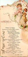 Menu Servi Le 14 Mai 1902 - Menus