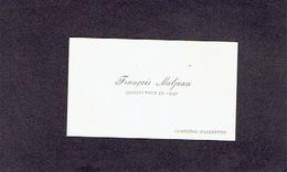CORNESSE (PEPINSTER) 1910 ANCIENNE CARTE DE VISITE - François MALJEAN - Instituteur En Chef - Cartes De Visite