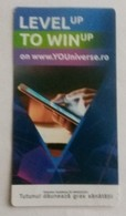 ROMANIA-CIGARETTES  CARD,NOT GOOD SHAPE,0.84 X 0.45 CM - Unclassified