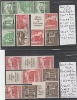TIMBRES D ALLEMAGNE NEUF **/ * / OBLITEREES 1933-45 Nr VOIR SUR PAPIER AVEC TIMBRES   COTE 99.70 € - Allemagne