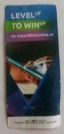 ROMANIA-CIGARETTES  CARD,NOT GOOD SHAPE,0.98 X 0.48 CM - Unclassified
