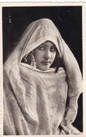 MAROC. MAZAGAN ( ENVOYE DE)  FEMME. BEAUTÉ VOILÉE + TEXTE ANNEE 1948. BORDURE DENTELEE - Marruecos