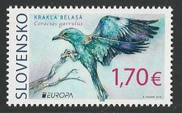 "ESLOVAQUIA /SLOVAKIA /SLOWAKIEN  -EUROPA 2019 -NATIONAL BIRDS.-""AVES -BIRDS -VÖGEL-OISEAUX""-Serie De 1 V. - 2019"