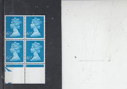 GRAN BRETAGNA  1974-5 - Unificato 733 (quartina) - Elisabetta - Nuovi