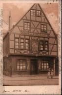 ! 1923 Alte Ansichtskarte Frankfurt Am Main , Hotel Stadt Limburg, Vilbelerstr. 23, Gasthaus Nicolodelli - Frankfurt A. Main