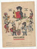Protége Cahier ,  Pain D'épices De DIJON, PHILBEE, 2 Scans,coll.  Grands Capitaines , Rois De France, Frais Fr 1.75 E - Protège-cahiers