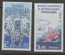 TAAF 1986 Ships 2v  ** Mnh (42879A) - Franse Zuidelijke En Antarctische Gebieden (TAAF)