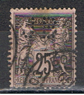 (1F 794) FRANCE // YVERT 97 TYPE SAGE // PERFIN / PERFORE JB // 1884-90 - Perfins