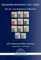 PALESTINE MANDATE (1917-1948) - Avo Kaplanian Collection 353. Köhler 2013 - Palästina