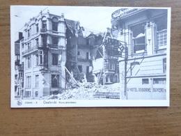 Oostende, Kapucijnenstraat Na De Oorlog In Puin -> Onbeschreven - Oostende