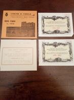 4 Biglietti Museo - Toegangskaarten