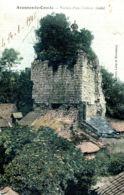 N°73204 -cpa Avenes Le Comte -ruines D'un Château Féodal- - Francia