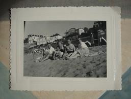 Plage St Enogat à Dinard - Famille 1952 - Places