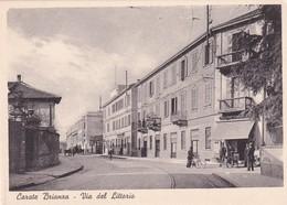 Cartolina Carate Brianza (Monza) - Via Del Littorio. - Monza