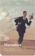 SHERATON   - HOTEL   - ROOM  KEYCARD KEY CARD - Hotelkarten