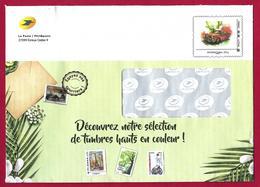 France (2019) Entier Postal De Service Prêt-à-poster Voiture Tour Eifel, Sport Handicapés Basket Ball. Postal Stationery - Enteros Postales