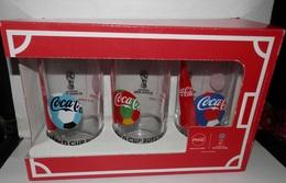VERRES  COCA-COLA FIFA WORDL CUP 2018 - Glasses