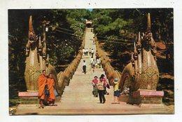 THAILAND AK 350615 Chiang-mai - Phura Thai Doi-Suthep-Mountain - Main Stair - Tailandia