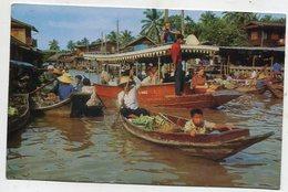 THAILAND AK 350624 Dhonburi - Wad Sai Floating Market - Tailandia