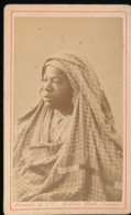 Photo -- Negresse Avec Son Pagne ( Voile ) - Old (before 1900)