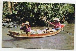 THAILAND AK 350637 Thai Boat-vendors - Tailandia