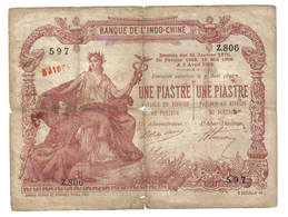 1 PIASTRE 1901 - Indochina