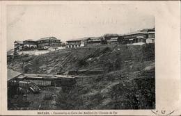 ! Alte Ansichtskarte Aus Matadi, Chemin De Fer, Kongo, Congo, 1911, Afrika, Eisenbahn, Afrique, Africa - Belgisch-Kongo - Sonstige