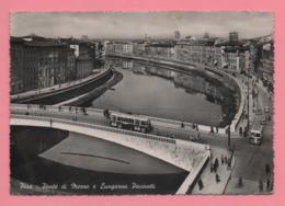Pisa - Ponte Di Mezzo E Lungarno Pacinotti - Pisa